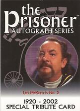 The Prisoner Volume 1 - PA10 Leo McKern Special Tribute Card