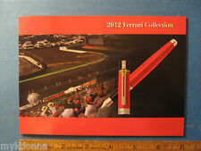 Sheaffer Ferrari Pen Collection Catalog Fountain 500 formula 1 F1 race car 2012