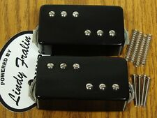 NEW Lindy Fralin P-92 Humbucker PICKUP SET Black Pickups 8000/ 9200 P-90 Bucker