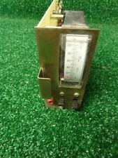 GE MASTR II Master VHF UHF Radio Repeater Meter card 19D417752P1  #L