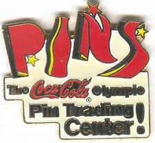 1996 ATLANTA OLYMPIC COCA COLA PIN TRADING CENTER PINS PIN