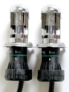H4 35w Bixenon - 6000K REPLACEMENT BULBS/GLOBES X 2 for Xenon HID Headlight Kit
