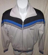 Retro Vintage Wilson tennis jacket Size adult Medium