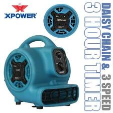 XPOWER P-230AT 800 CFM Mini Air Mover Portable Carpet Dryer Floor Fan Blower