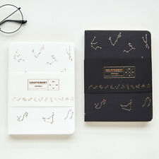"""Constellation"" 1pc Hard Cover Blank Sketchbook Beautiful Notebook Diary Journal"