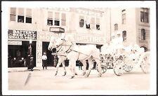 1924 APPLE BLOSSOM PARADE PIONEER MOTOR COMPANY HORSE WENATCHEE WASHINGTON PHOTO
