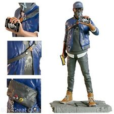 Ubisoft Watch_Dogs 2 Marcus Figurine Statue, 9.5 Inches Official Action Figure