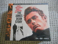 THE JAMES DEAN STORY Sights And Sounds 2 CD + DVD + Booklet NEW OVP