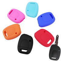 FIT FOR RENAULT TWINGO CLIO SILICONE SMART KEY REMOTE HOLDER CASE FOB COVER