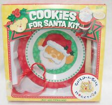 Build a Bear Cookies for Santa Kit in Box Includes Plate Cookie Cutter Spatula