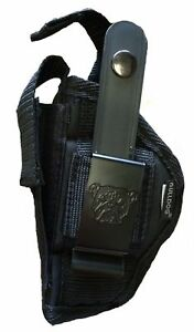 COLT 380 Government Gun Holster With Built-In Mag Pouch
