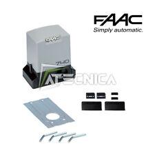 Moteur de portails coulissants 500 kg 230V FAAC 740 1097805 motoréducteur