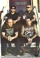 "Rancid ""Group Sitting On Steps"" Poster From Thailand -Punk Rock / Ska Punk Music"
