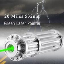 0.5mw 532nm 20mile Potente Láser Verde Puntero lápiz óptico rayo Lazer