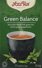 Yogi Herbal Organic Ayurvedic Tea - Green Balance - Buy More Save More