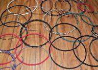 24 Qty. Lot: Hand Drum Rings for Djembe Conga Djun Rope building repair *Bargain