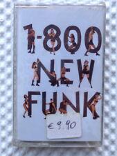 1-800  NEW FUNK  -   MC MUSICASSETTA  1994  NUOVA E SIGILLATA
