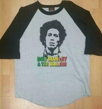Bob Marley & The Wailers Men's 1X (XL) 3/4 Sleeve Shirt