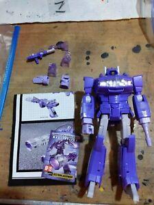 Transformers Masterpiece MP-29 SHOCKWAVE LASERWAVE! LOOSE COMPLETE AUTHENTIC!