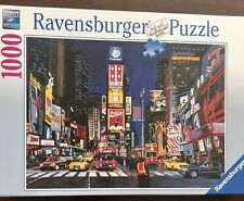 Ravensburger - Times Square, NYC-  1000 Pc Jigsaw Puzzle - Complete