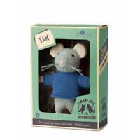 Das Mäusehaus Plüschfigur Sam (13cm) in Geschenkbox Kuscheltier Stofftier NEU