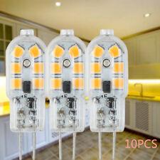 10X G4 bombillas LED cápsula reemplazar luz halógena AC/DC blanco cálido popular