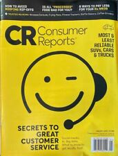 Consumer Reports Magazine; Jan 2020; Customer Service | Roofing | Rx $$