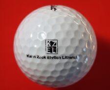 Pelota de golf con logo-kahn Zack Ehrlich lithwick-golf logotipo pelota coleccionista pelotas de logotipo