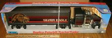 Ertl 1989 Peterbilt Silver Eagle Freight Tractor Semi Truck Toy #3609 STEEL USA