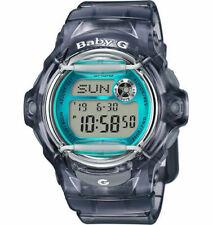 Casio Baby-G Female Beachside Grey / Blue Digital Watch BG169R-8B BG-169R-8BDR