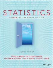 [P�F] Statistics Unlocking the Power of Data, 2e WileyPlus Registration Card