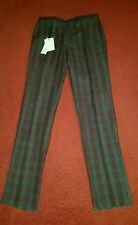 $695.00 Marc Jacobs Tom Check Linen Pant  MEN'S  SIZE 30 IT 46