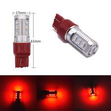 2 Pcs Car T20 7443 Flashing Strobe Red Rear Alert Safety Brake Tail Stop Lights