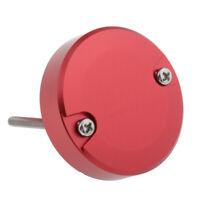 Chrome Brake Fluid Reservoir Cap Cover For DUCATI 748 848 916 1098 1190, Red