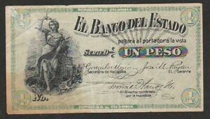 1900 COLOMBIA 1 PESO NOTE
