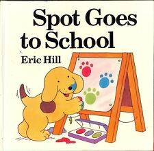"""Vintage """"Spot""""  the Dog- Collection 3 Books and 3 VHS Tapes- 1 book hard cover"""