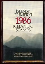 Iceland 1986 Official Year Pack  Complete as Issued