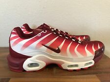 Nike Red Nike Air Max Plus Athletic Shoes for Men for Sale