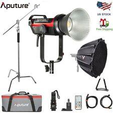 Us Aputure Ls Cob 300d Ii Lamp Brightness Brighter V-mount+ Light Dome Ii+ Stand