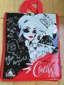 NEW Cruella Disney SHOPPER SHOPPING BAG Reusable