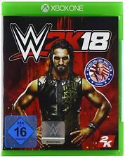 Microsoft Xbox One Jeu - WWE 2k18 dans L'emballage Utilisã