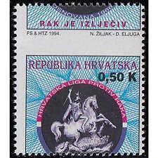81 Pf Iv Postfrisch Kroatien Kroatien 1942 Mi.nr