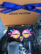 NWT LOUIS VUITTON Monogram LOVELY BIRDS OWL Card Holder Case Wallet M61709 LtdEd