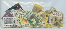 MALAYSIA/MALAYA--Accumulation of 83 stamps