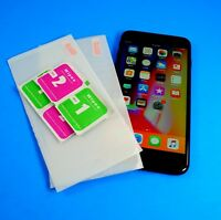 Premium Tempered Glass OR Plastic Screen Protectors Lot for Apple Iphone 8 Plus