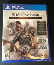 Middle-earth Shadow of War [ Definitive Edition ]  (PS4) NEW
