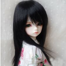 "[wamami] 15# Black Long Straight Wig/Hair 1/6 SD AOD DOD DZ BJD Dollfie 6""-7"""