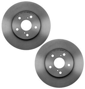 Brembo Pair Set of 2 Front 296mm Disc Brake Rotors for ES300 Avalon Camry Solara