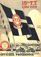 1939 Dutch TT Assen 14th Anniversary Poster Print Image  ca 8 x 10 print prent