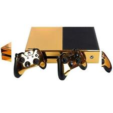 SKINOWN Xbox 1 Golden Skin Gold Sticker Vinly Decal Cover for One(XB1)...